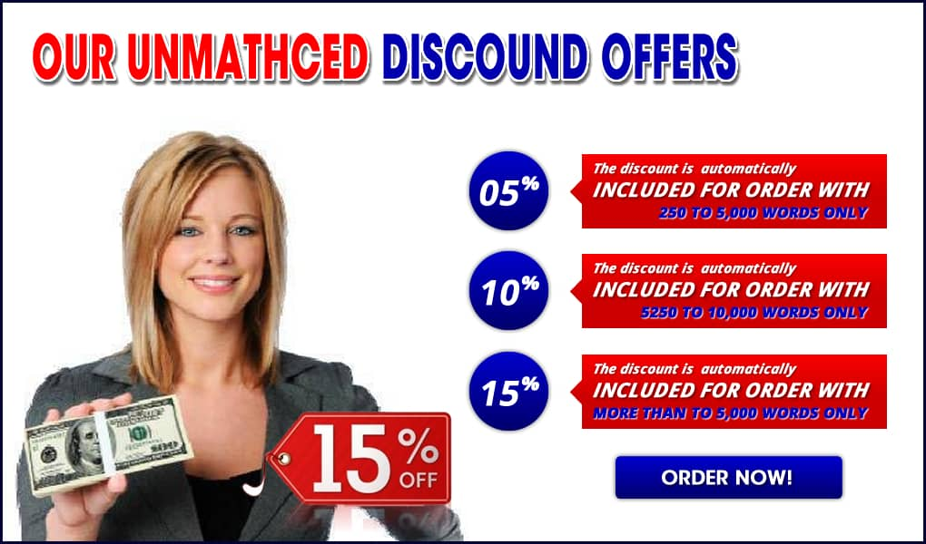 discounts - academic writing services