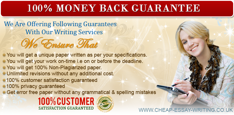 Guarantees by Essay Writing Services UK
