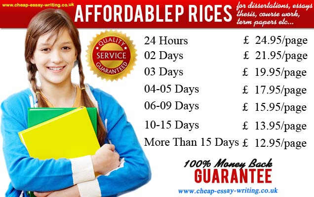 Cheap essay services prices