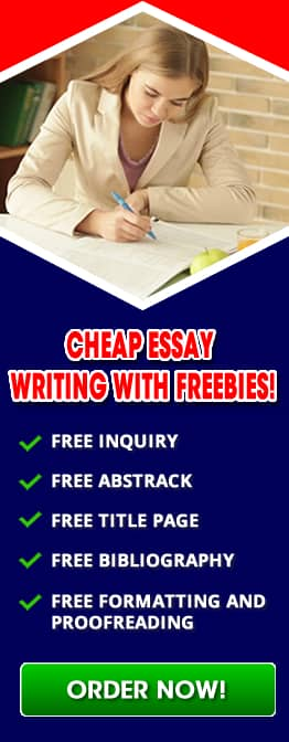 Cheap essays writing